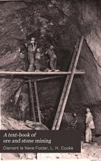 A Text book of Ore and Stone Mining PDF