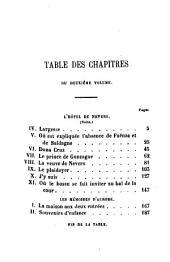Le bossu: Aventures de cape et d'épée. Collection Hetzel, Volume2