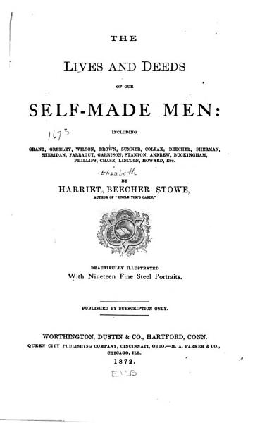 Download The Lives and Deeds of Our Self made Men Book