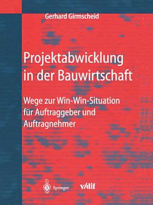 Projektabwicklung in der Bauwirtschaft PDF