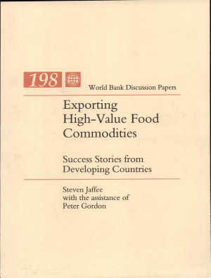 Exporting High value Food Commodities PDF