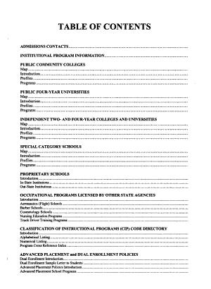 Michigan Postsecondary Handbook