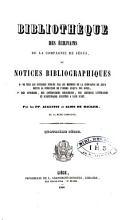 Biblioth  que des   crivains de la Compagnie de J  sus PDF