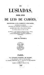 Os Lusiadas: poema epico : restituido a' sua primitiva linguagem ...
