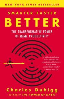 Smarter Faster Better Book