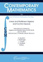 Linear and Multilinear Algebra and Function Spaces PDF