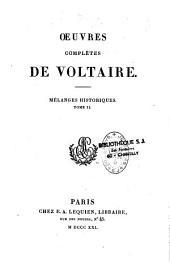 Oeuvres complètes de Voltaire: Volume61