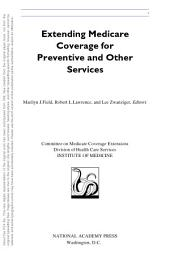Extending Medicare Coverage for Preventive and Other Services