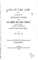 Lays of the Law PDF