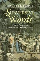 Subversive Words