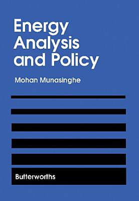 Energy Analysis and Policy