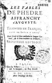 Les fables de Phèdre: affranchy d'Auguste