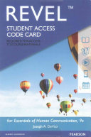 Revel for Essentials of Human Communication    Access Card PDF