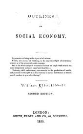 Outlines of social economy ...