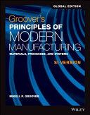 Principles of Modern Manufacturing PDF