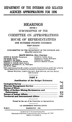 Department of the Interior and Related Agencies Appropriations for 1996