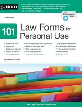 101 Law Forms for Personal Use: Edition 10