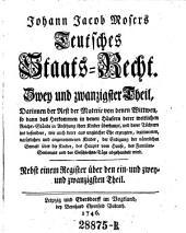 Teutsches Staats-Recht: Band 24