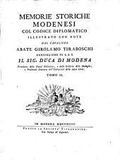 Memorie storiche modenesi: Volume 2