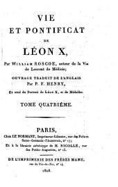 Vie et Pontificat de Leon X.