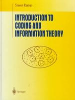 Introduction to Coding and Information Theory PDF