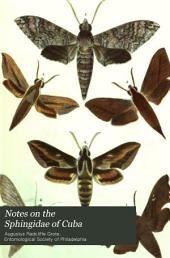 Notes on the Sphingidae of Cuba