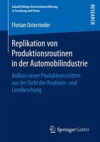 Replikation von Produktionsroutinen in der Automobilindustrie PDF