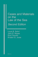 Cases and Materials on the Law of the Sea PDF