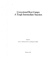 Correctional Boot Camps: A Tough Intermediate Sanction