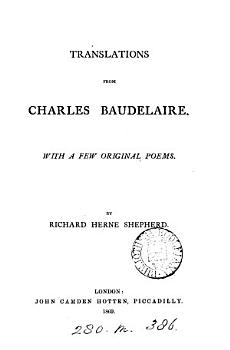 Translations from Charles Baudelaire  with a few original poems PDF