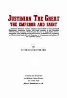 Justinian the Great  the Emperor and Saint PDF