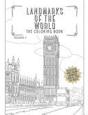 Landmarks Of The World  The Coloring Book  Color In 30 Hand Drawn Landmarks From All Over The World