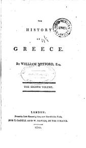 The History of Greece: Volume 8
