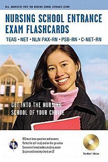 Nursing School Entrance Exams Flashcards Book