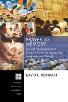 Prayer as Memory PDF