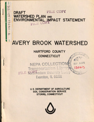 Avery Brook Watershed