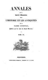 Annales de la Société d'Emulation de Bruges: Volume 3