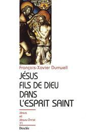 Jésus fils de Dieu dans l'Esprit Saint: JJC 71