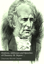 Miscellaneous speechees