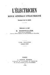 L'Electricien: Volume13