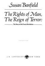 The Rights of Man, the Reign of Terror