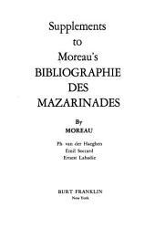 Supplément à la Bibliographie des mazarinades