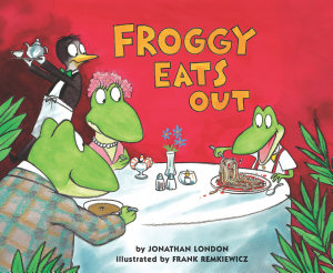 Froggy Eats Out Book