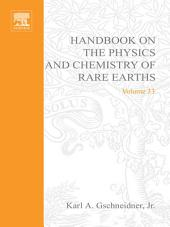 Handbook on the Physics and Chemistry of Rare Earths: Volume 33