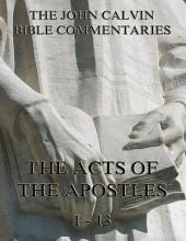John Calvin's Commentaries On The Acts Vol. 1 (Annotated Edition): Volume 1