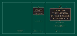 Drafting Technology Patent License Agreements PDF