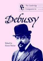 The Cambridge Companion to Debussy PDF
