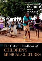 The Oxford Handbook of Children s Musical Cultures PDF