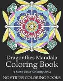 Dragonflies Mandala Coloring Book