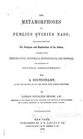 The Metamorphoses of Publius Ovidius Naso